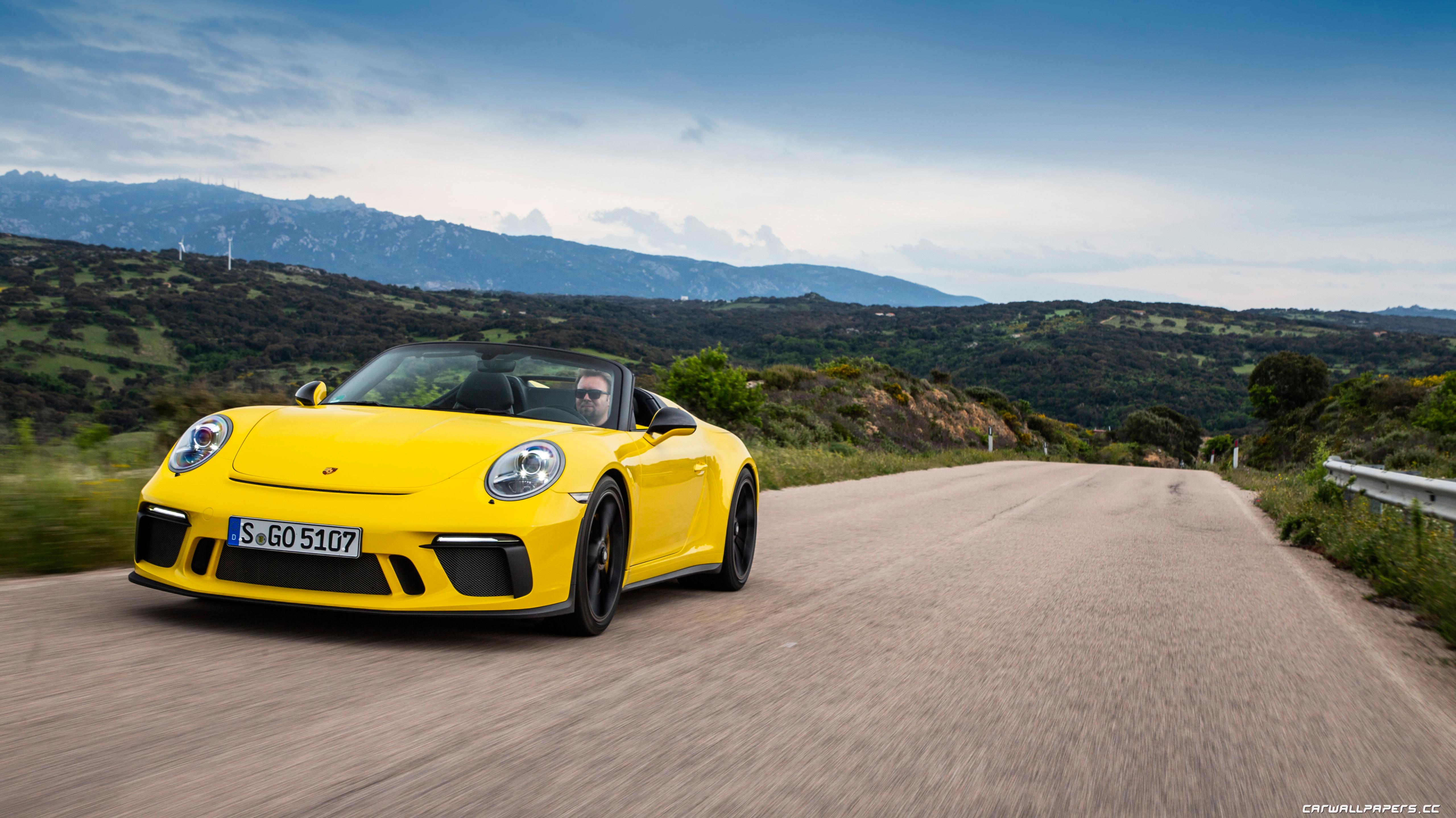 Cars desktop wallpapers Porsche 911 Speedster (Racing ...
