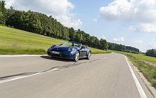 Cars wallpapers Porsche 911 Carrera Cabriolet (Gentian Blue Metallic) - 2019