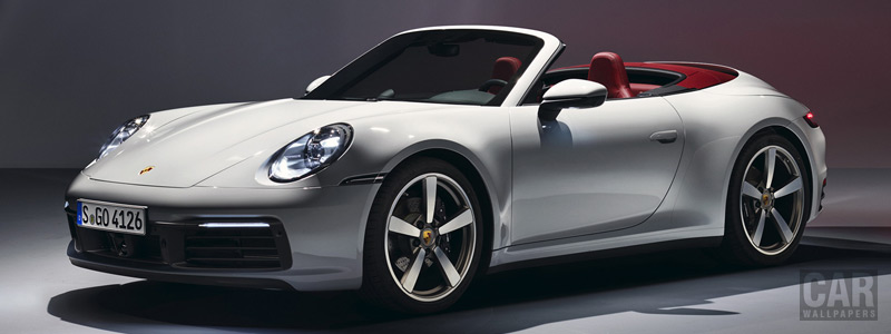 Cars wallpapers Porsche 911 Carrera Cabriolet - 2019 - Car wallpapers