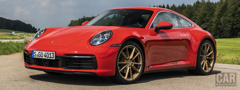 Cars wallpapers Porsche 911 Carrera Coupe (Guards Red) - 2019 - Car wallpapers