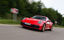 Cars wallpapers Porsche 911 Carrera Coupe (Guards Red) - 2019