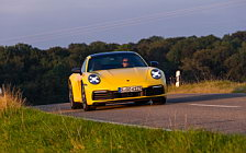 Cars wallpapers Porsche 911 Carrera Coupe (Racing Yellow) - 2019