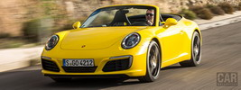 Porsche 911 Carrera S Cabriolet - 2015