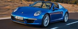 Porsche 911 Targa 4 - 2014