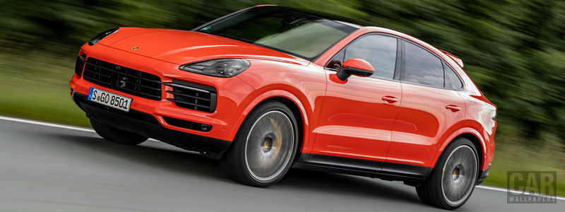 Cars wallpapers Porsche Cayenne Coupe (Lava Orange) - 2019 - Car wallpapers