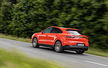 Cars wallpapers Porsche Cayenne Coupe (Lava Orange) - 2019