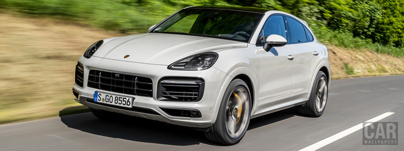 Cars wallpapers Porsche Cayenne S Coupe (Crayon) - 2019 - Car wallpapers