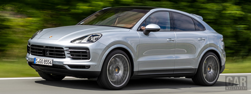 Cars wallpapers Porsche Cayenne S Coupe (Dolomite Silver Metallic) - 2019 - Car wallpapers