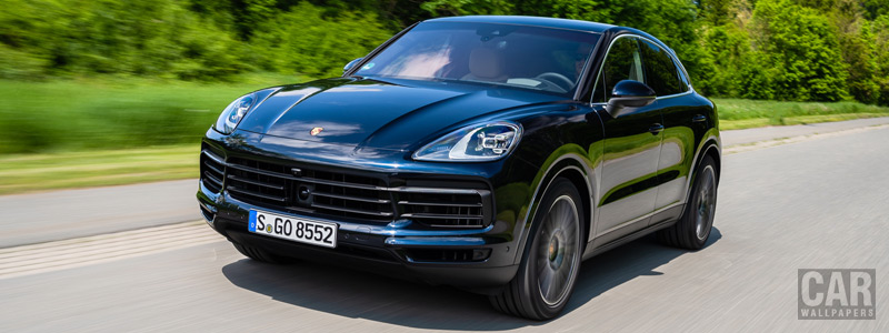 Cars wallpapers Porsche Cayenne S Coupe (Moonlight Blue Metallic) - 2019 - Car wallpapers