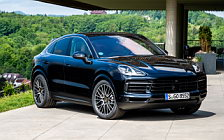 Cars wallpapers Porsche Cayenne S Coupe (Moonlight Blue Metallic) - 2019