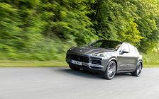 Cars wallpapers Porsche Cayenne S Coupe (Quarzite Grey Metallic) - 2019