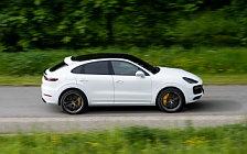 Cars wallpapers Porsche Cayenne Turbo Coupe (Carrara White Metallic) - 2019