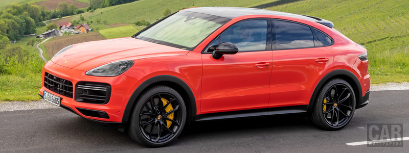 Cars wallpapers Porsche Cayenne Turbo Coupe (Lava Orange) - 2019 - Car wallpapers