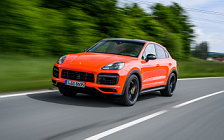 Cars wallpapers Porsche Cayenne Turbo Coupe (Lava Orange) - 2019