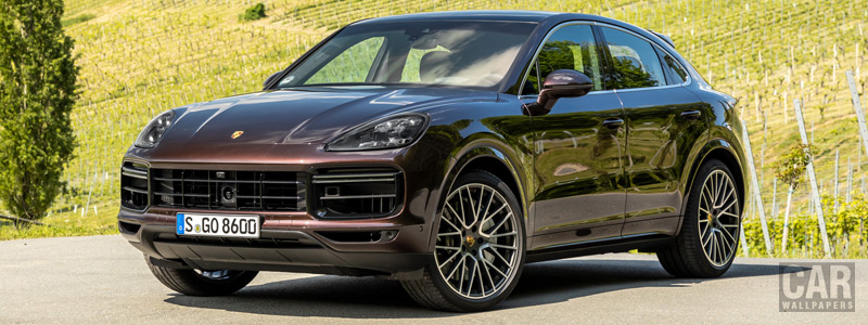 Cars wallpapers Porsche Cayenne Turbo Coupe (Mahogany Metallic) - 2019 - Car wallpapers