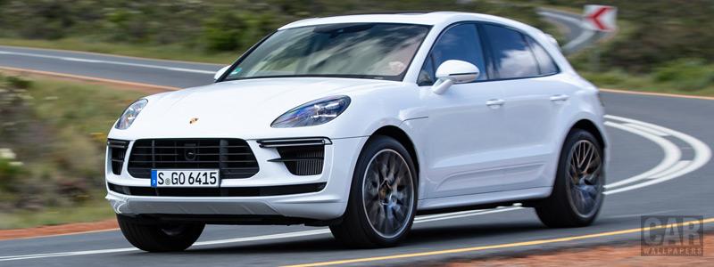 Cars wallpapers Porsche Macan Turbo (Carrara White Metallic) - 2019 - Car wallpapers