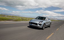 Cars wallpapers Porsche Macan Turbo (Dolomite Silver Metallic) - 2019