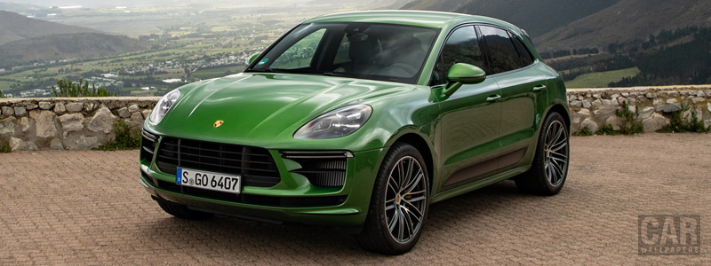Cars wallpapers Porsche Macan Turbo (Mamba Green Metallic) - 2019 - Car wallpapers
