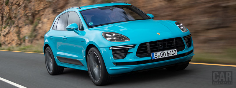 Cars wallpapers Porsche Macan Turbo (Miami Blue) - 2019 - Car wallpapers