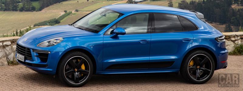 Cars wallpapers Porsche Macan Turbo (Sapphire Blue Metallic) - 2019 - Car wallpapers