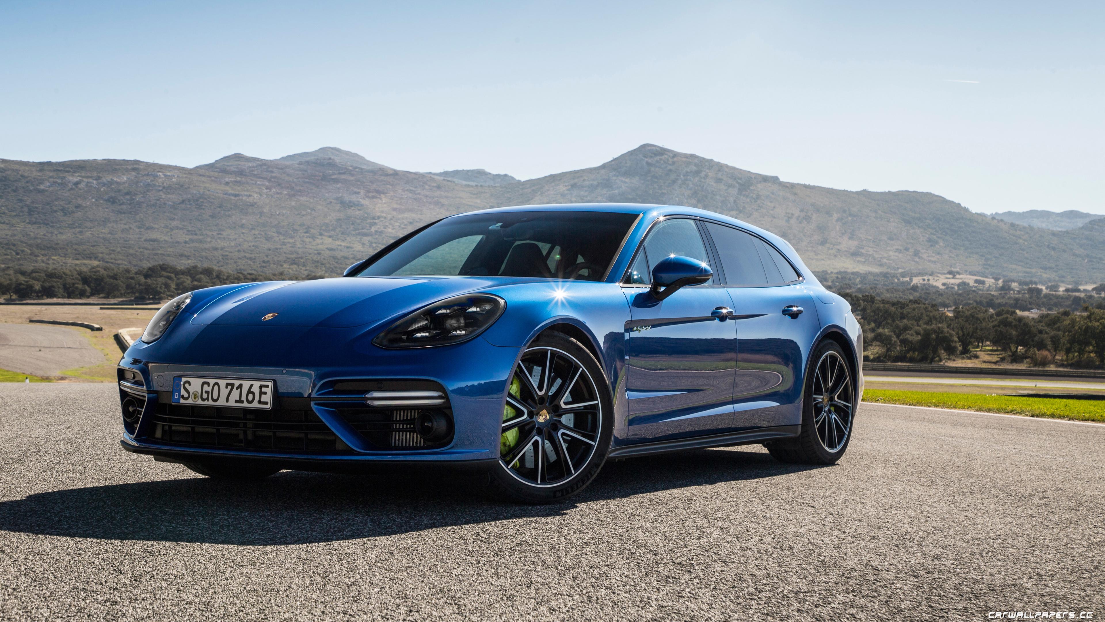 Cars Desktop Wallpapers Porsche Panamera Turbo S E Hybrid Sport Turismo Sapphire Blue Metallic 2017 Page 2