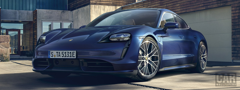 Cars wallpapers Porsche Taycan Turbo - 2019 - Car wallpapers